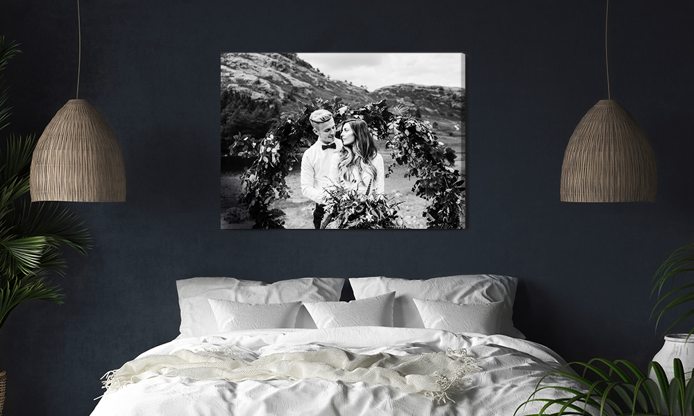 Decorating Dark Walls, Canvas Print, SC 1