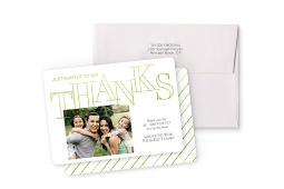 Stationery Thank You Card