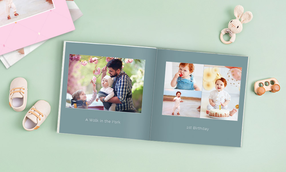 ow to Create a Baby Book, Lay-Flat Photo Book SC 2